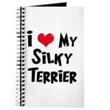I Love My Silky Terrier Journal