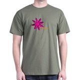 Kayak Paddle Power (Pink) T-Shirt