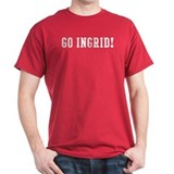 Go Ingrid Black T-Shirt