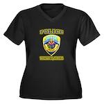 Youngtown Arizona Police Women's Plus Size V-Neck