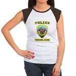 Youngtown Arizona Police Women's Cap Sleeve T-Shir