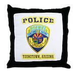 Youngtown Arizona Police Throw Pillow