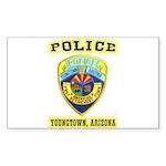 Youngtown Arizona Police Sticker (Rectangle 50 pk)