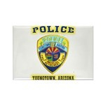 Youngtown Arizona Police Rectangle Magnet (100 pac
