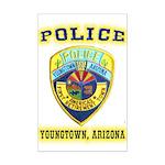 Youngtown Arizona Police Mini Poster Print