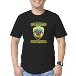 Youngtown Arizona Police Men's Fitted T-Shirt (dar