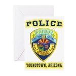 Youngtown Arizona Police Greeting Cards (Pk of 20)