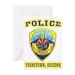 Youngtown Arizona Police Greeting Card