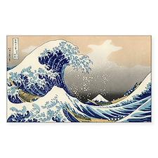 Kanagawa The Great Wave Decal