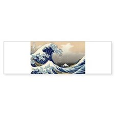 Kanagawa The Great Wave Bumper Sticker