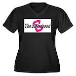 Sisterhood Women's Plus Size V-Neck Dark T-Shirt