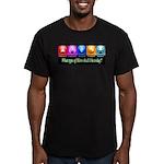 Today's Hero Men's Fitted T-Shirt (dark)