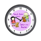 Spay Wall Clock
