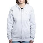 Bicurious Women's Zip Hoodie