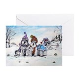 Pets schnauzer Greeting Cards (20 Pack)
