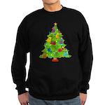 French Horn Christmas Sweatshirt (dark)