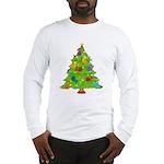 French Horn Christmas Long Sleeve T-Shirt