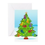 French Horn Christmas Greeting Cards (Pk of 20)