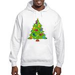 French Horn Christmas Hooded Sweatshirt
