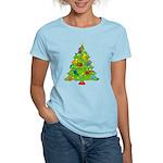 French Horn Christmas Women's Light T-Shirt