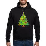 French Horn Christmas Hoodie (dark)