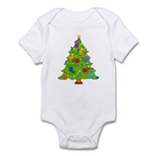 French Horn Christmas Infant Bodysuit