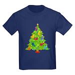 French Horn Christmas Kids Dark T-Shirt