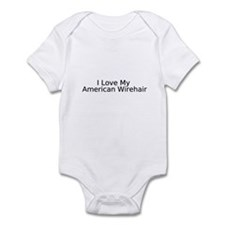 Funny American wirehair Infant Bodysuit