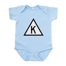 Triangle K Infant Bodysuit