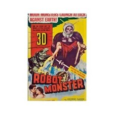 $4.99 Robot Monster in 3-D Magnet