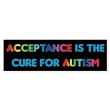 Autism Acceptance Car Sticker