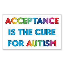 Autism Acceptance Decal