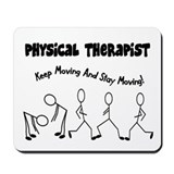 Stick People Occupations Mousepad