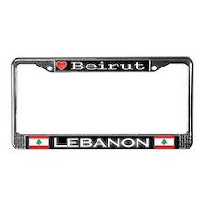Beirut, LEBANON - License Plate Frame