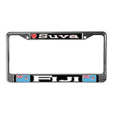 Suva, FIJI - License Plate Frame