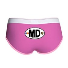 Moldova Euro Oval Women's Boy Brief