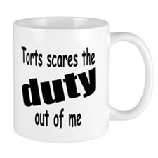 Torts Scares the Duty Out of Mug