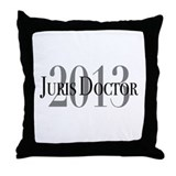 Juris Doctor 2013 Throw Pillow