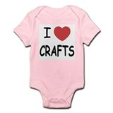 I heart crafts Infant Bodysuit