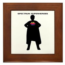 Spectrum Superhero Framed Tile