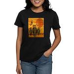 3 Owls Women's Dark T-Shirt