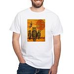 3 Owls White T-Shirt