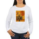 3 Owls Women's Long Sleeve T-Shirt