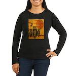 3 Owls Women's Long Sleeve Dark T-Shirt