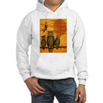 3 Owls Hooded Sweatshirt