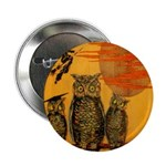 "3 Owls 2.25"" Button"