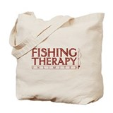 Fishing Therapy Unlimited Tote Bag