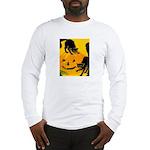 Pumpkin Cats Long Sleeve T-Shirt