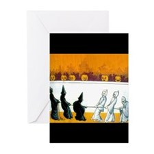 Ghostly Ghouls Greeting Cards (Pk of 20)