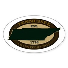 Tennessee Est. 1796 Decal